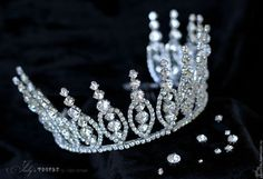 Bead Jewellery, Hair Jewelry, Bridal Jewelry, Jewelery, Bridal Hair Vine, Bridal Crown, Crown Pattern, Princess Jewelry, Fascinator Headband