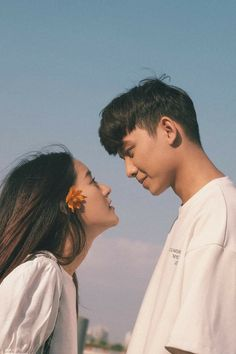 'When we love we always strive to become better than we are. When we strive to become better than we Korean Photography, Couple Photography Poses, Portrait Photography, Summer Photography, Cute Couples Goals, Couples In Love, Couple Goals, Couple Posing, Couple Shoot