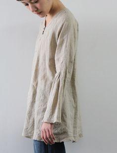 .lovely Japanese linen tunic.
