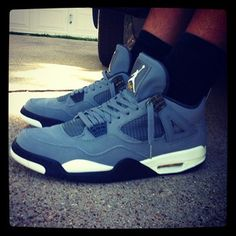 """Air Jordan 4 """"Cool Grey"""""""