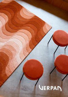 Contemporary Rugs, Modern Rugs, Studio Apartment Decorating, Interior Decorating, Tapis Design, Design Design, Circle Rug, Interior Rugs, Home Rugs