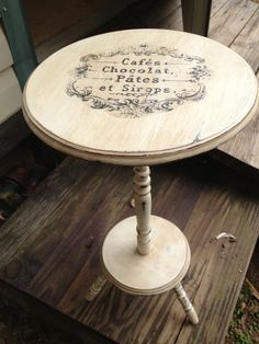 Chalk paint whimsy