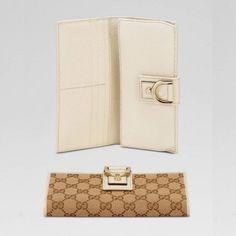Gucci 141412 F4dyg 9773 Continental Geldb?rse mit D-Ring-Verzierung Gucci Damen Portemonnaie