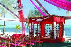 Indian Wedding Ceremony, wedding arch  #indianwedding, #shaadibazaar