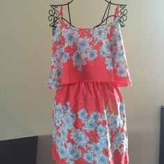 Hawaiian print summer dress Beautiful brand-new with tags's Hawaiian print summer dress Rhapsodielle Dresses Mini