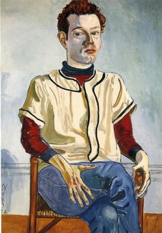 Alice Neel, Jackie Curtis as a Boy, 1972.