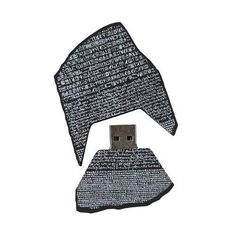via @maiteximenez: A Rosetta Stone USB memory ...