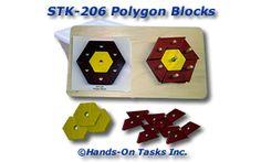 Stacking Polygon Blocks Activity