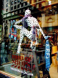 Henri Bendel Window Display