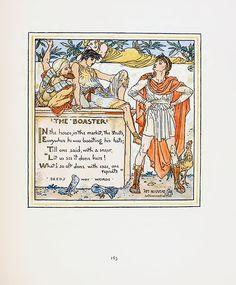 Walter Crane Illustrations from the 19th Century.  Arguabally, Walter Crane was the best childrens book illustrator of his era.  Truly masterful art nouveau illustration.