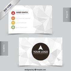 polygonal card