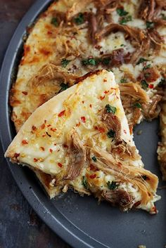 Thai Sweet Chili Pork Pizza - 12 Exceptional Thai Pork Recipes | GleamItUp