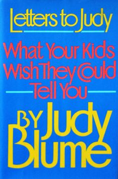 Children's Endearing Letters to Judy Blume About Being Gay and Her Timeless Advice to Parents | Brain Pickings