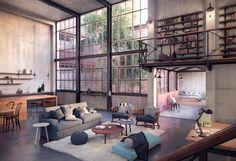 salon diseño moderno Lukas Korner