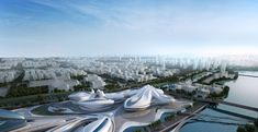 zaha hadid: changsha meixihu international culture and art centre