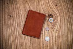 Brown Leather Passport holder Passport case от OldOnLeather
