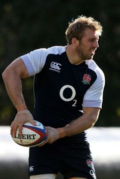 Chris Robshaw (b.1986) is an English rugby union Flanker and captain of Harlequins and the current captain of the England national rugby union team.: