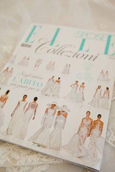 Nicole Spose su Elle Spose #press #magazine #nicole #nicolespose #nicolefashiongroup #alessandrarinaudo #wedding #weddingdress #white #bridal #bride #bride #colet #jolies #romance #aurora