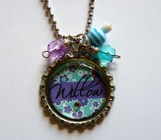 Personalized Children's name Necklace birthday party by TrendyTz, $16.99