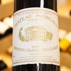 Chateau Margaux 1990 Margaux Bordeaux France  With a gorgeous red berries nose 1990 perfectly combined the freshness of cherries and figs with tobacco and clove notes on a soft and sensual palate. Now at its peak the 100pts wine simply immersed you in an incredible depth. Marvellous  Earlier this month Chateau Margaux released its 2015 special edition which came in a commemorative bottle designed in black and gold. The special edition was released in memory of Paul Pontallier and as well the…