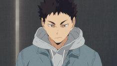 Image about anime in Haikyuu! Haikyuu Iwaizumi, Iwaoi, Haikyuu Fanart, Haikyuu Ships, Haikyuu Anime, Haikyuu Funny, Nishinoya, Hot Anime Guys, All Anime