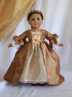 American Girl and other 18 inch dolls  French by SimplyMyShop