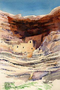 James Mann Watercolor.  . watercolor illustration