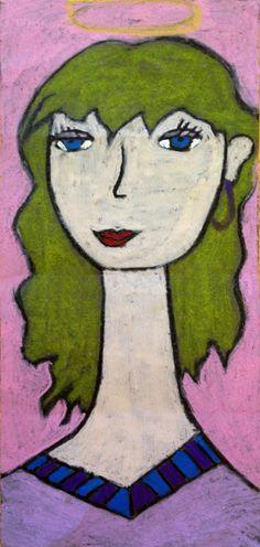Modigliani Portrait by Keana