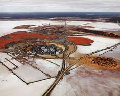 Silver Lake Operations # 2,Lake Lefroy, Western Australia, 2007Chromogenic colour print. Image © Edward Burtynsky