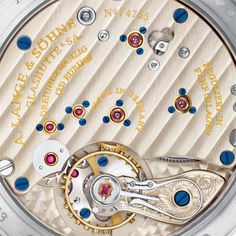 he German watch brand A. Lange & Söhne was revived in 1994 but only opened their first boutique ten years Pink And Gold, White Gold, Limited Edition Watches, Vintage Pocket Watch, 10 Anniversary, Classic Elegance, Boutique, Watch Brands, Watches
