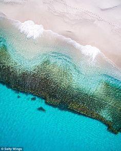 Albany na zona costeira de Perth...