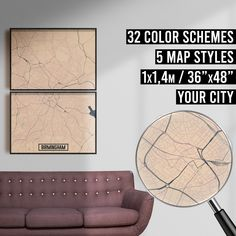 FREE SHIPPING WITHIN EU AND USA  We really love maps. Map prints, map posters, map illustrations. Our map designs consist 32 color schemes and 5 styles to choose from. Maps are very detailed and fully customizable if needed.    #mapprint #mapart #citymap #citymapprint #citymapposter #mapwallart #mapposter Map Posters, City Map Poster, Map Wall Art, Map Art, Map Illustrations, Simple Poster, Custom Map, Map Design