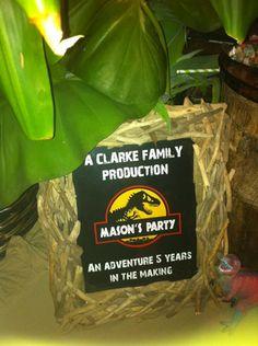 jurassic park cakes | Boys Dinosaur Party Ideas - Boys Dinosaur Birthday Party ideas ...