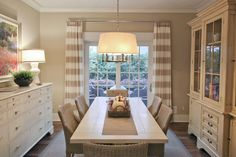 Curtains and lighting