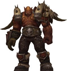 Garrosh Hellscream by Daerone