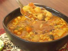 Vegetarian Harira Recipe - Moroccan Vegetarian Recipes