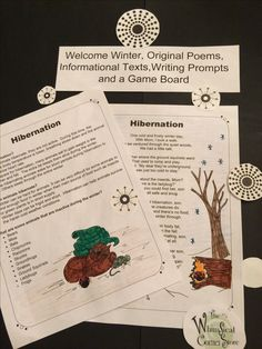 Welcome Winter, Original Poems, Informational Texts, and a Game Board Snow Theme, Winter Theme, Welcome Winter, Drawing Activities, Evergreen Trees, Winter Day, Upper Elementary, Learning Resources, Interesting Facts