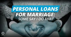 Getting a personal loan for marriage is one way to finance your wedding. Wedding Loans, Wedding Expenses, Medical Loans, Loans For Bad Credit, American Wedding, Financial Institutions, Student Loans, Love Your Life, Personal Finance