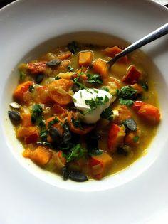 Rezepte: Karotten-Kürbis-Eintopf