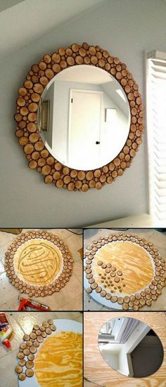 spiegel-verzieren-kork-dekoideen