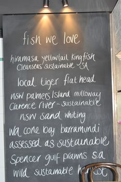 love.fish Rozelle Sydney Masterchef Australia, Sustainable Seafood, Sydney, Drinking, Restaurant, Fish, Country, Eat, Beverage