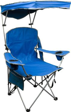 I am not afraid to admit that I'm not a big fan of the elements, whether we're talking rain, snow, or even sun. That means one of these Quik Shade Chairs is a must. Let others get burnt to a crisp while you take refuge (with drink in hand) under some shade.