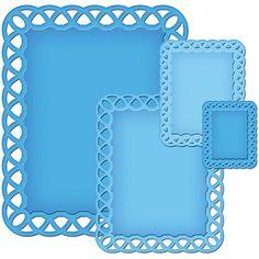 Karten-Kunst - Stempel- und Scrapbook-Shop - Spellbinders Nestabilities - Lattice Rectangles