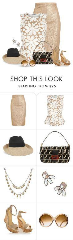 """""""Wedge and Pencil 3"""" by justjules2332 ❤ liked on Polyvore featuring N°21, BCBGMAXAZRIA, Fendi, Betsey Johnson, Nila&Nila and Tom Ford"""