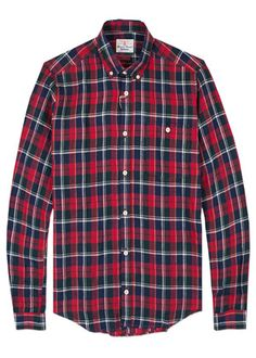 William Shirt in Red. BarbourPatagonia a62916a3b6cc