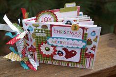 SALE Christmas Mini Album Kit or Premade plus Bonus Ornament Album Pre cut with Instructions