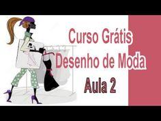 Curso Grátis - Desenho De Moda - Aula 2 - Movimentos