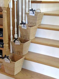 "If you live in a house with three or more people, give everyone a designated ""crap basket."""
