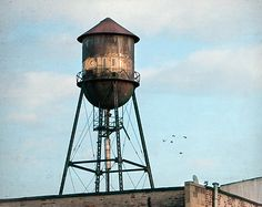 New York Water Tower 16 NY Scenes by garyhellerphotograph on Etsy