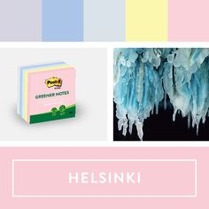 Explore the Post-it World of Color Helsinki Collection.